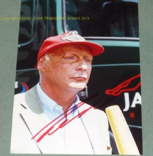 Niki Lauda on early 2000s  Portait photo